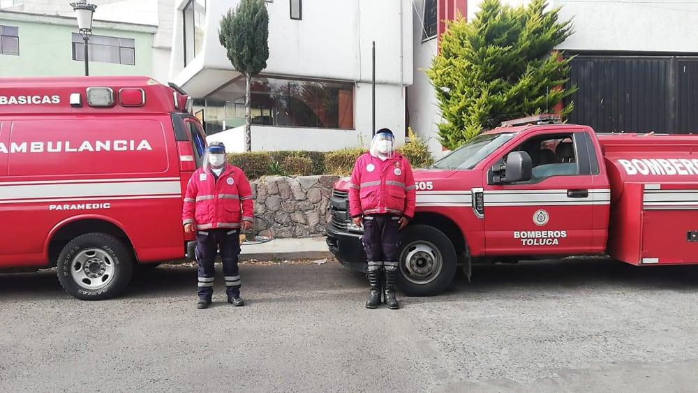 Realiza PC de Toluca 295 traslados y servicios de atención prehospitalaria por COVID-19