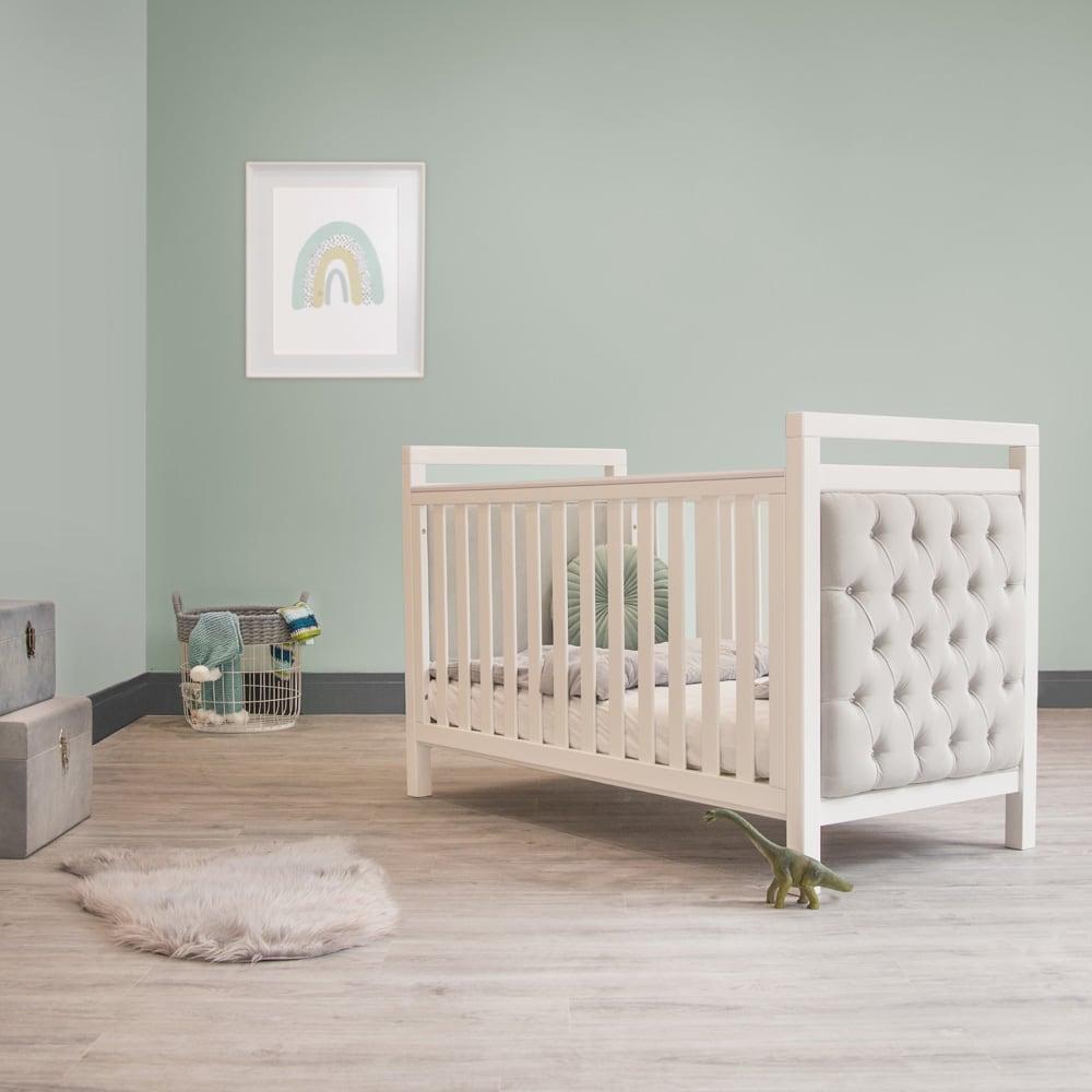 Childrens bed Nursery cot velvet childrens room